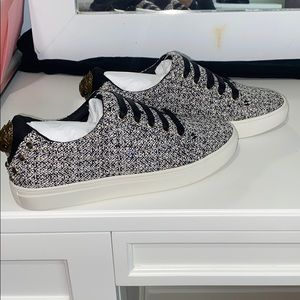 Kurt Geigers women's ludo quilted los top sneaker